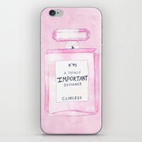 clueless iPhone & iPod Skins featuring Clueless Design Co. by MidnightCoffee