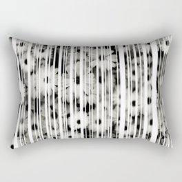 Flower Bars Rectangular Pillow
