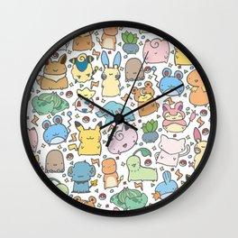 Kawaii Pokémon Wall Clock