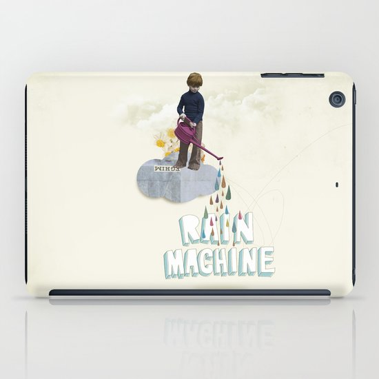 Rain Machine iPad Case