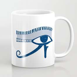 Eye of Horus Egyptian Amulet Coffee Mug