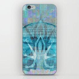 Blue Kali Goddess Visionary iPhone Skin