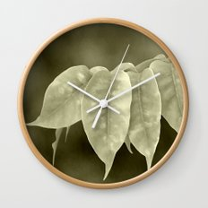 The curtain Wall Clock