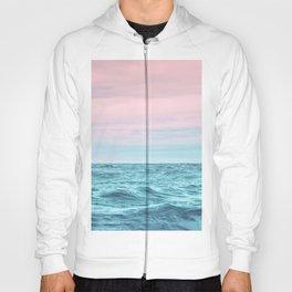 the sea. ocean sundown Hoody