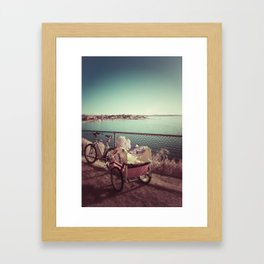 rested Framed Art Print