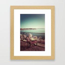 rested Framed Art Print