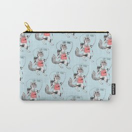 Cat gone Fishing Carry-All Pouch