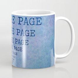 One More Page Coffee Mug