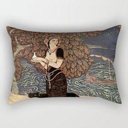 """Circe the Enchantress"" by Edmund Dulac Rectangular Pillow"