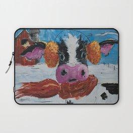 Wis-cow-sin Winter Laptop Sleeve