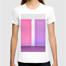 Pink and Purple Doors T-shirt