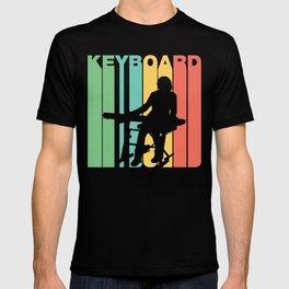 Retro Style Keyboard Keyboardist Musician T-shirt