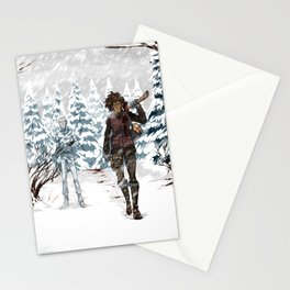 Under the Dead Skies - Snow Stationery Cards