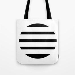 Blinding Sun Black Tote Bag