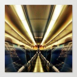 TransAtlantic Crossings of a Mysterious Traveler Canvas Print
