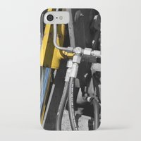 muscle iPhone & iPod Cases featuring Hydraulic Muscle by Digitalshot
