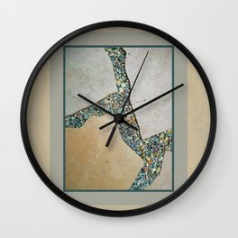 A Crack in the Pavement Wall Clock