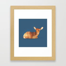 Fawn. Framed Art Print