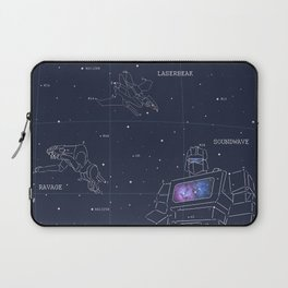 Soundwave, Ravage, Laserbeak Star Chart Laptop Sleeve