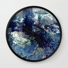 Winter Blossom Original Photography Wall Clock