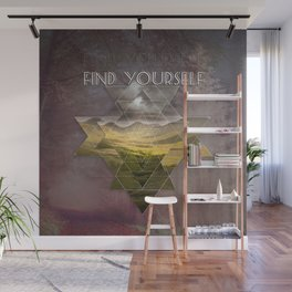 Find Yourself Wall Mural