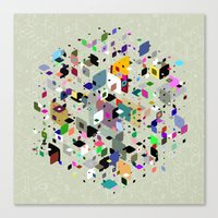 breaking Canvas Prints featuring Breaking Free by Angelo Cerantola