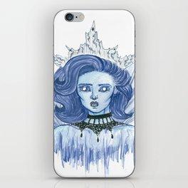 Queen of ice iPhone Skin