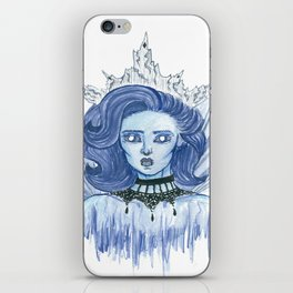 Queen of ice iPhone Skin