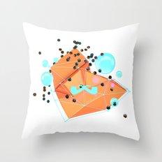 Cascade. Throw Pillow
