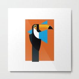 Birds of Brazil | Toucan Metal Print