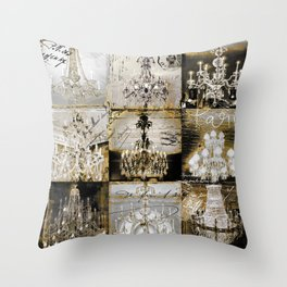 Danse Paree Throw Pillow