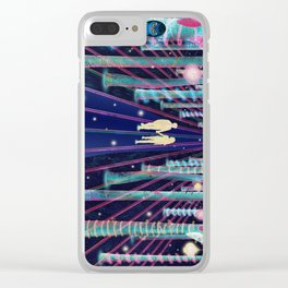Walking in the Magic Forest Clear iPhone Case