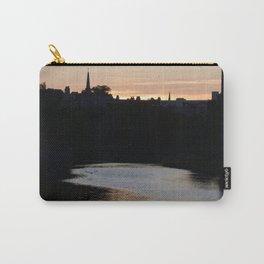 Sunset over Leith Edinburgh Carry-All Pouch