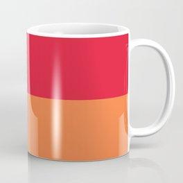 Raspberry Peach Orange Coffee Mug