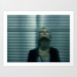 Elevator Blur Art Print