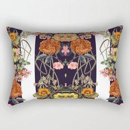 Floral Crossings 02 Rectangular Pillow
