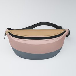 Neutral 70's Minimal Sunset Fanny Pack