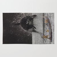 orca Area & Throw Rugs featuring Orca by Lerson