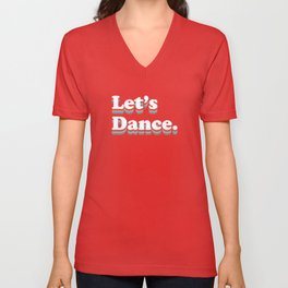 Let's Dance Unisex V-Neck