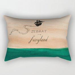 Zebrat in Fairyland - Album Art Rectangular Pillow