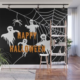 Monsters Happy Halloween Wall Mural