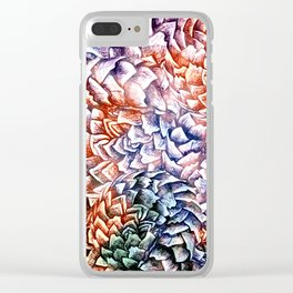 Artichokes and Pangolins Bright Clear iPhone Case