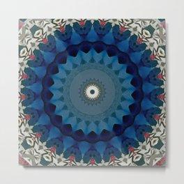 Basal Color Mandala 4 Metal Print