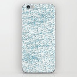 Cool Blue iPhone Skin
