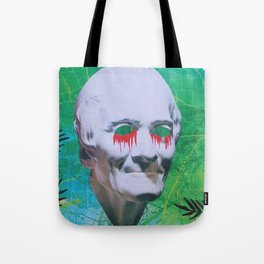 I open my eyes and all I see is darkness / VAPORWAVE Tote Bag