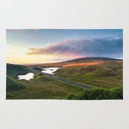 Vanishing Lakes,Ireland,Northern Ireland,Ballycastle Rug
