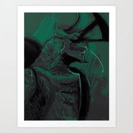 Trespasser Art Print