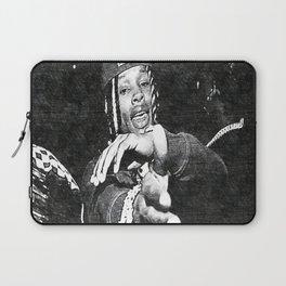 King Von - Dayvon Daquan Bennett - Rap - Drill Chicago Music - Society6 Sketch Art Laptop Sleeve