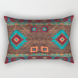 Bohemian Traditional Southwest Style Design Rectangular Pillow