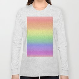 soft rainbow Long Sleeve T-shirt